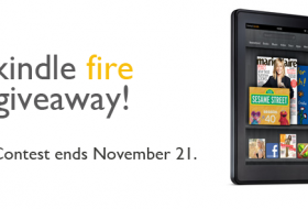Thumbnail image for Kindle Fire Giveaway!