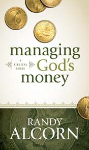 Post image for Book Review & Giveaway: Managing God's Money by Randy Alcorn